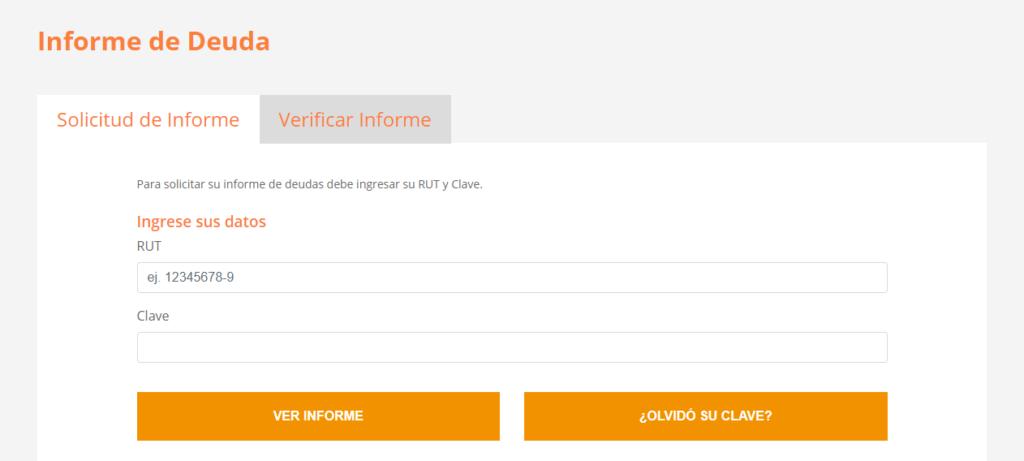 Cómo se puede solicitar el certificado de deudas por internet