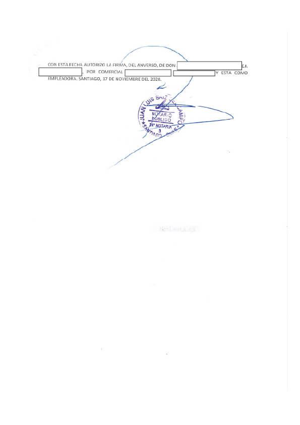 Modelo de certificado de vigencia del contrato
